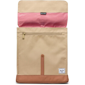 Herschel City Mid-Volume - Sac à dos - beige/marron